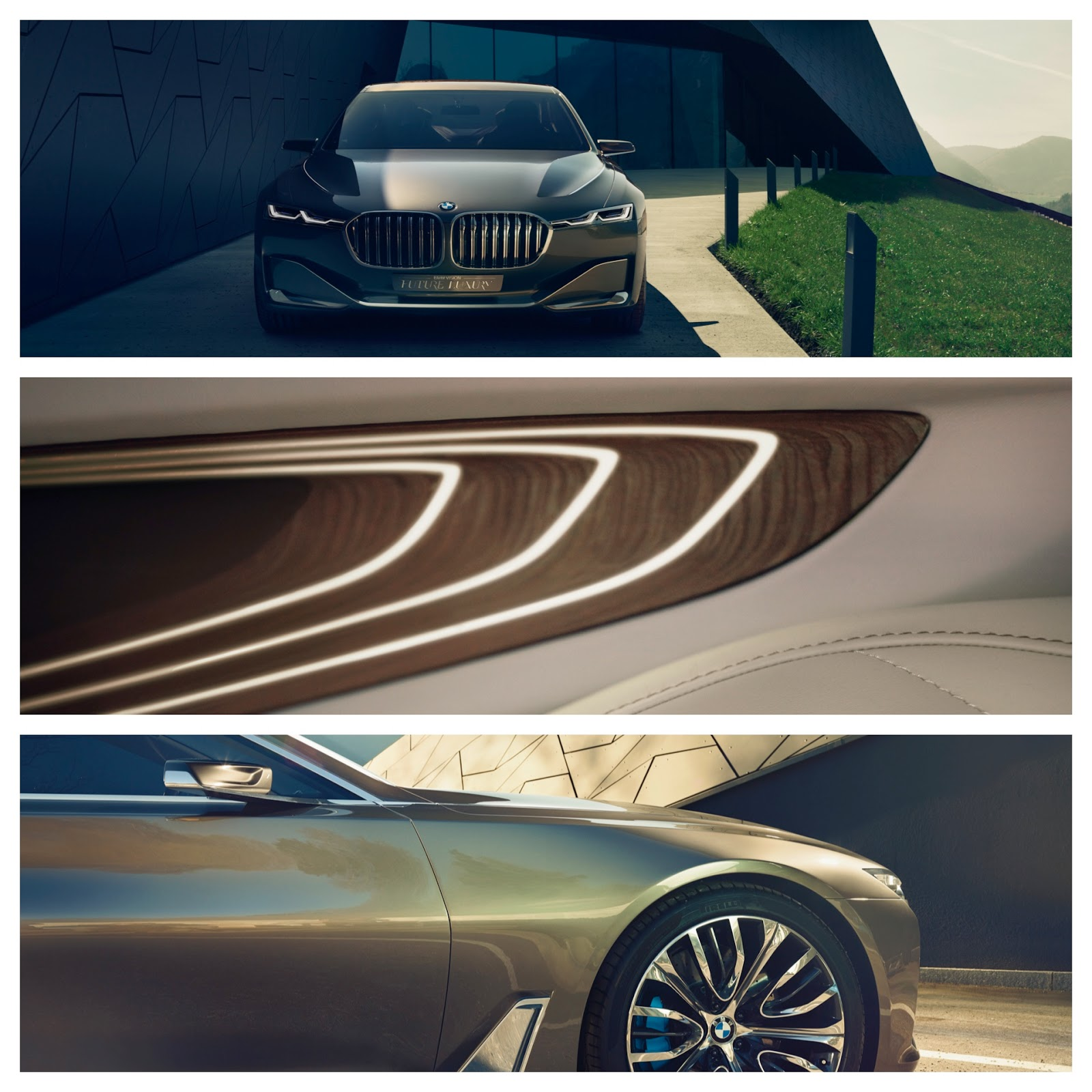 BMW Vision Future Luxury | The New BMW 7-Series