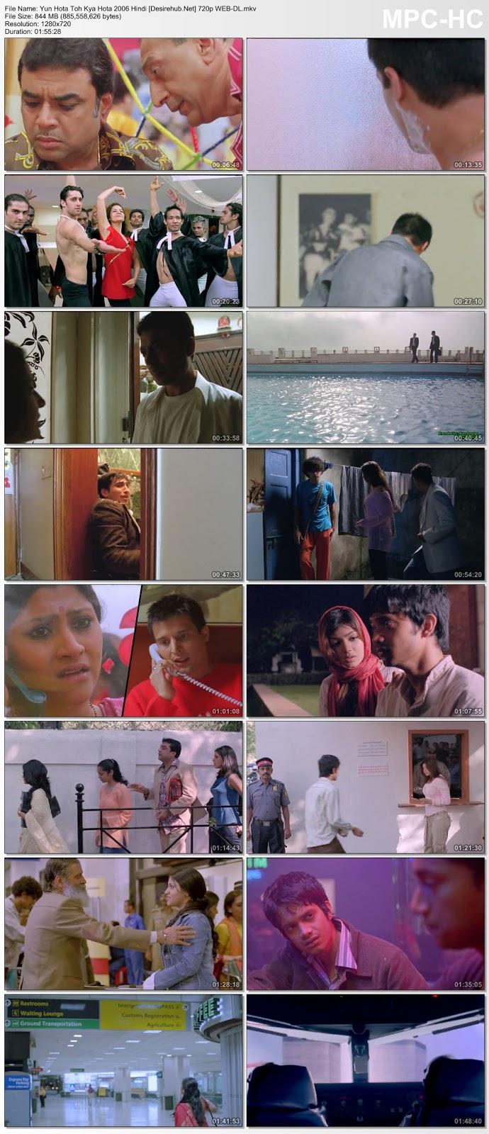Yun Hota Toh Kya Hota 2006 Hindi 720p WEB-DL 800MB Desirehub