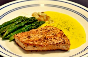 resep membuat steak ikan salmon