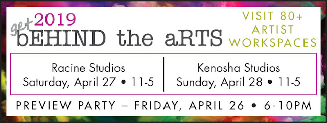 Get Behind the Arts in Kenosha and Racine, Wisconsin 2019