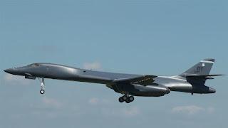 Supersonic US B-1B Bombers