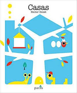 selección cuentos infantiles día del libro 2018, casas hector dexet patio cartoné