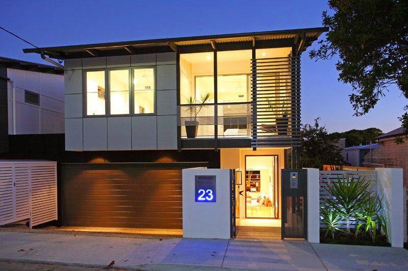 Contoh Gambar Model Garasi Rumah Minimalis  Desain Rumah