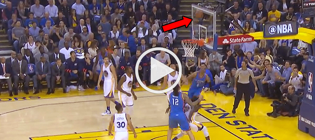 Russell Westbrook's CRAZY Circus Shot Against Warriors (VIDEO)