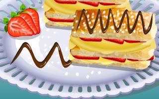 gambar roti lapis stoberi coklat