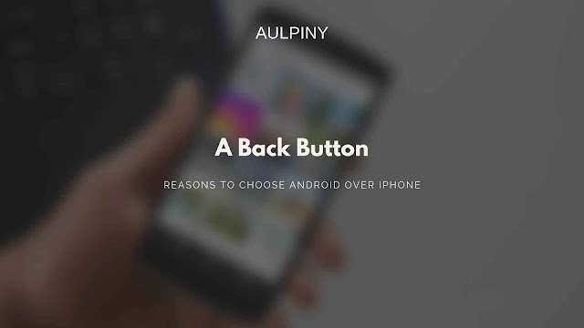 Back button in smartphone