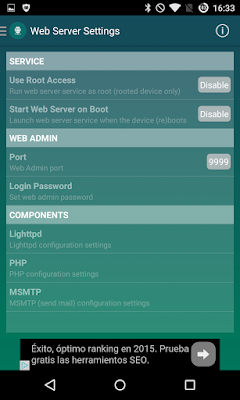 Web Server con Papala Web Server