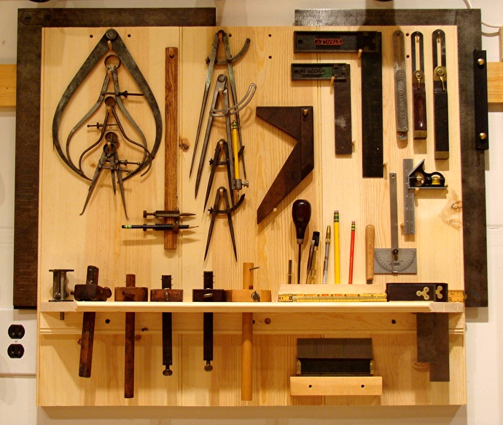 Shop Tools: Dan's Shop: Last Of The Pegboard Removed And New Layout