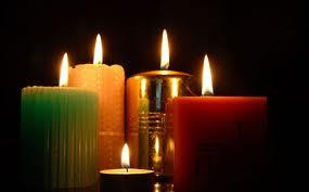 Las velas aromática también son muy decorativas