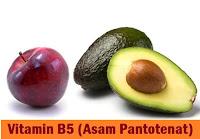 Sumber Vitamin B5