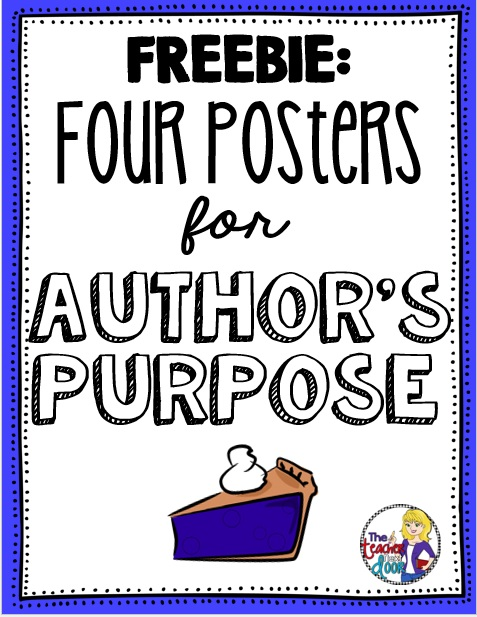 Author S Purpose Worksheets For 3rd Grade : Upper elementary snapshots author s purpose steps easy