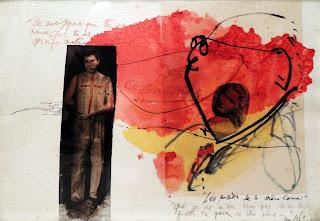 Modest Cuixart Autorretrato. Collage, informalismo
