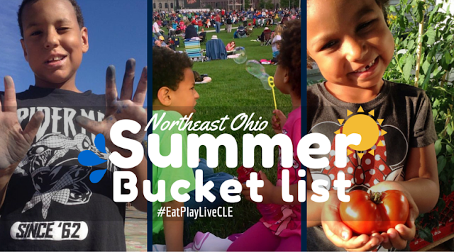 Our Northeast Ohio Summer Bucket List #EatPlayLiveCLE