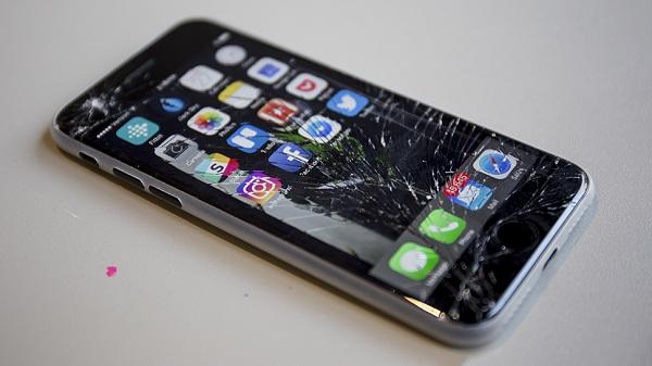 Sử dụng không cẩn thận dễ dẫn tới hư hại màn hình