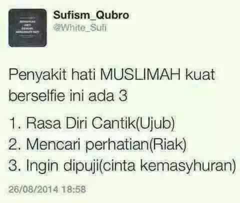 Selfie Muslimah!