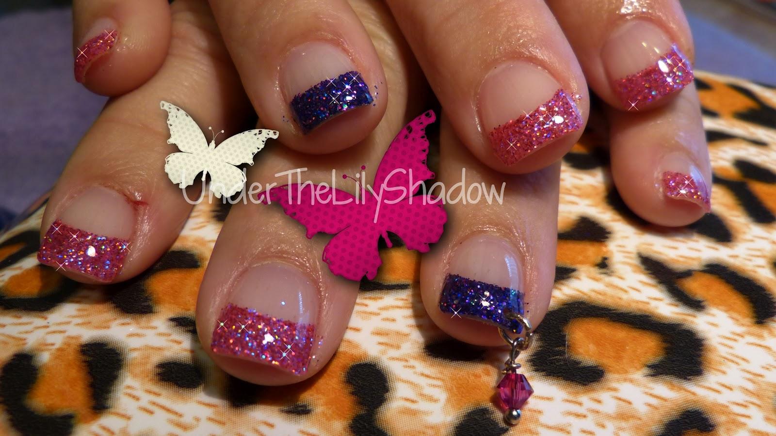 underthelilyshadow: Nicki Minaj Nail Art