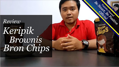 Review Makanan, Review Makanan Indonesia, Keripik Brownies Bron Chip