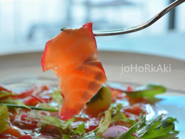"""Salmon-Trout-Carpaccio-""""W"""" Espresso Sporting Club By Monsta Cafe"""