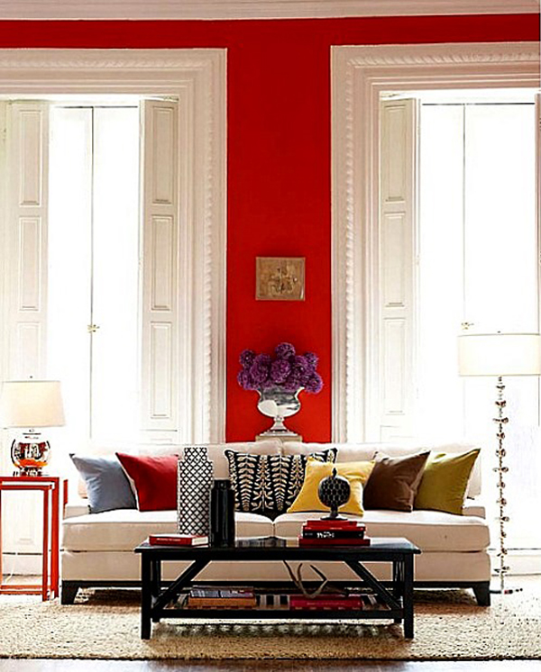 Red Room: Red Paint Colors