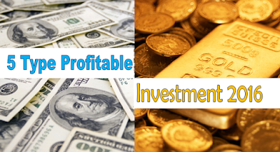 Five Most Profitable Investment In 2016