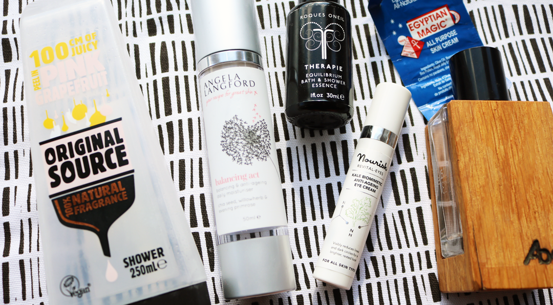 March Empties: Products I've Used Up