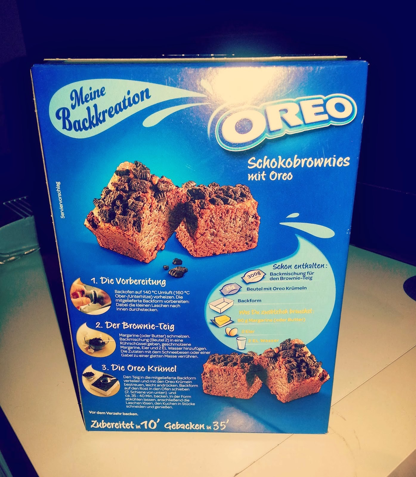 Oreo Kuchen Backmischung Lacerta S Diaries Oreo Brownies Backmischung