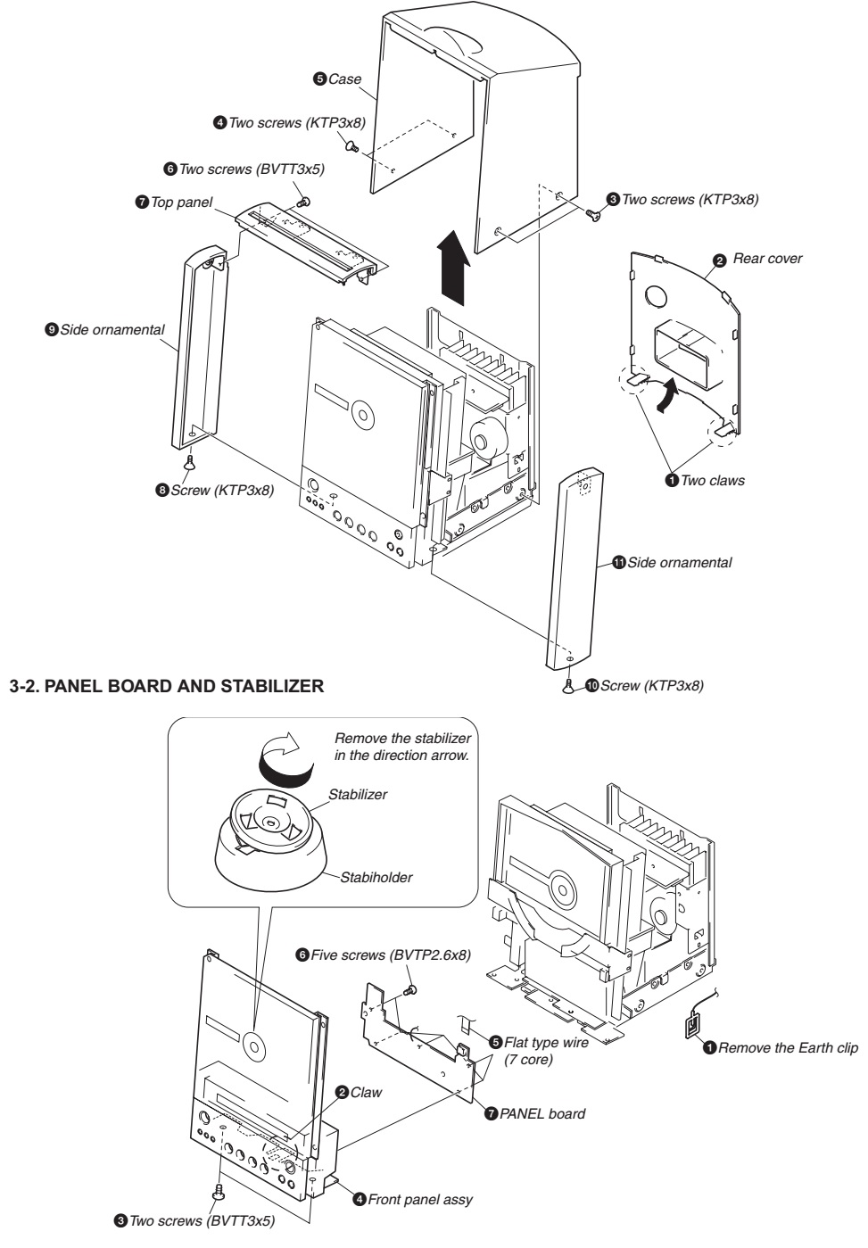 Sony HCD-EX1 COMPACT COMPONENT SYSTEM