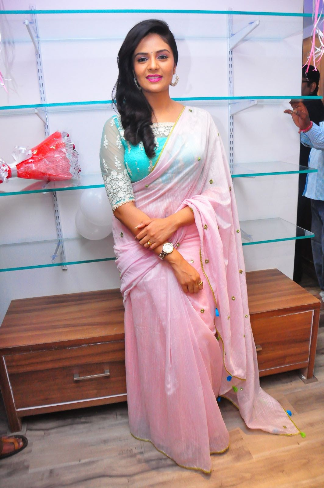 Srimukhi at Manvis launch event-HQ-Photo-1