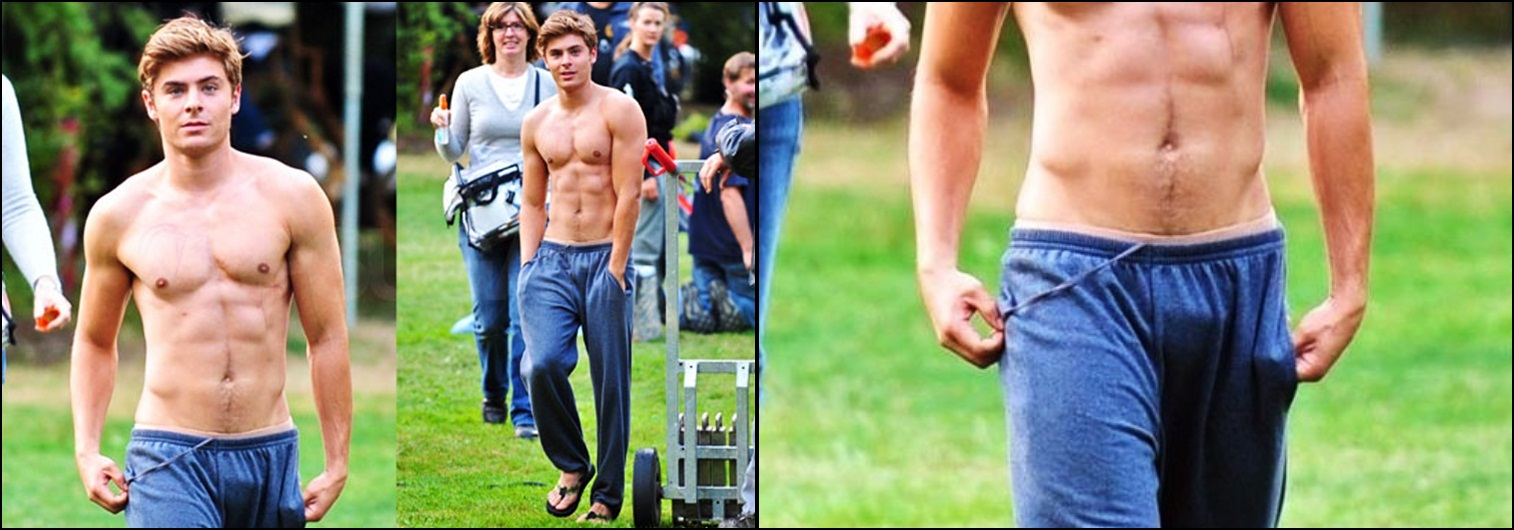 Zac Efron Dick Size 16
