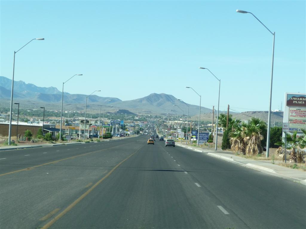 Skid And Sandy On The Road Kingman Arizona To Santa