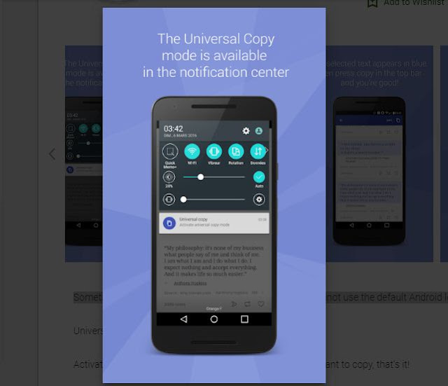 How to copy any text in Android mobile / Universal copy