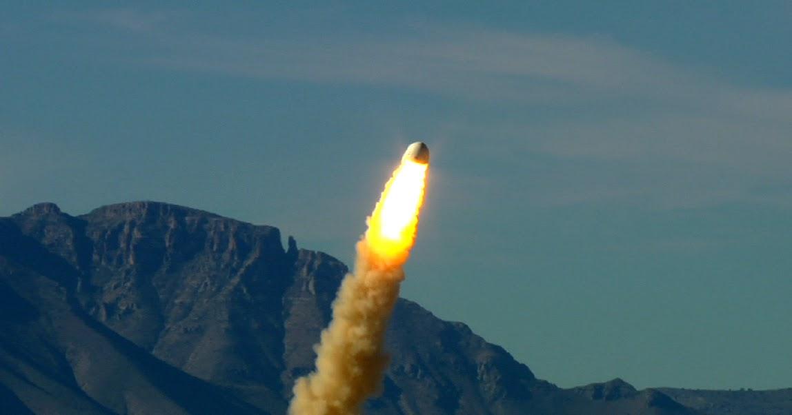 """Blue Origin, ad Ottobre un test """"drammaticamente spettacolare"""" del razzo New Shepard"""