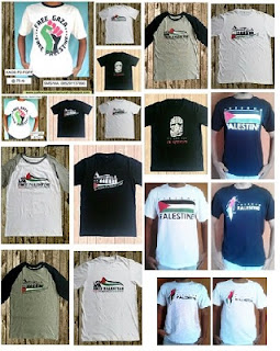 Tempat Jual Kaos Palestina Online
