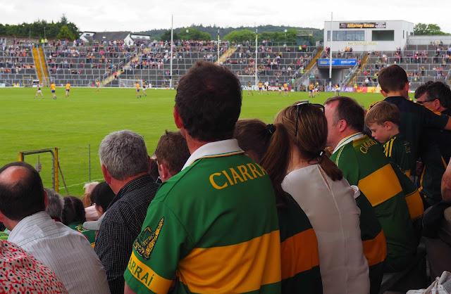 GAA, Kerry, Clare, Gaelic football, stadium, Kerryn pelipaita