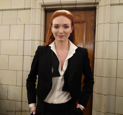 Poldark S3 screening, Eleanor Tominson,