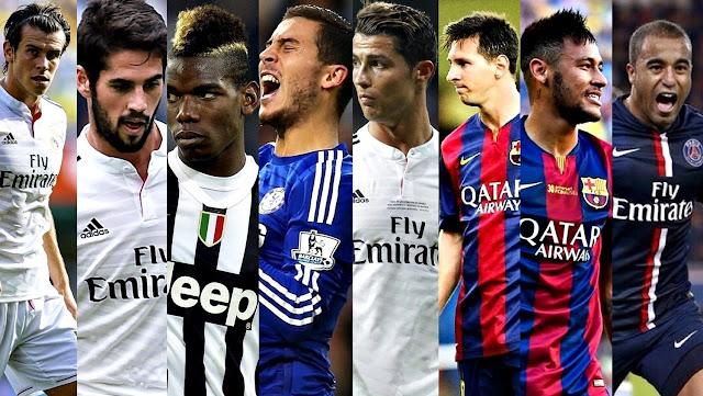 Top 20 Transfer Pemain Bola Termahal Sepanjang Masa