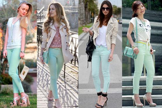Extrêmement Trouvez Votre Beauté: Pantalons colorés : apprenez à les utiliser  TC49
