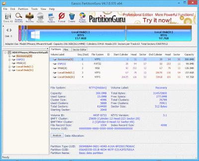 Eassos PartitionGuru Pro full key serial