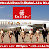 VACANCIES AT EMIRATES JANUARY 2017