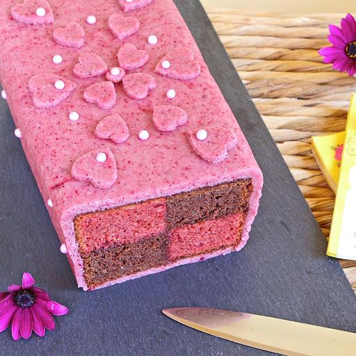 Chocolate Almond Battenberg Cake Origin
