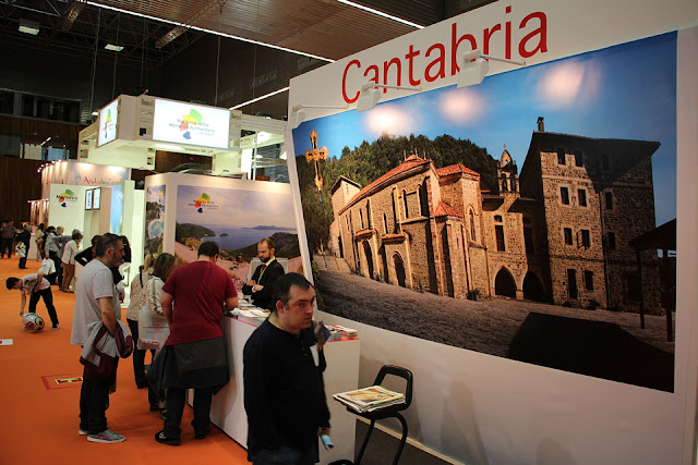 Puesto de Cantabria en Expovacaciones de 2016
