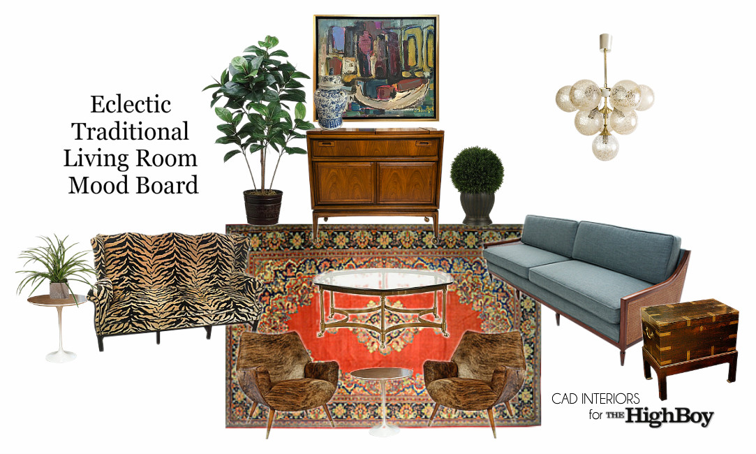 interior design decor antiques vintage e-design