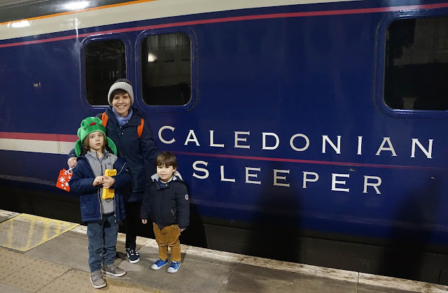 family sleeper train