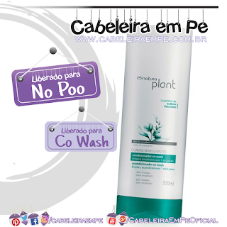Condicionado Co Wash Curvas Envolventes - Natura Plant (No Poo)