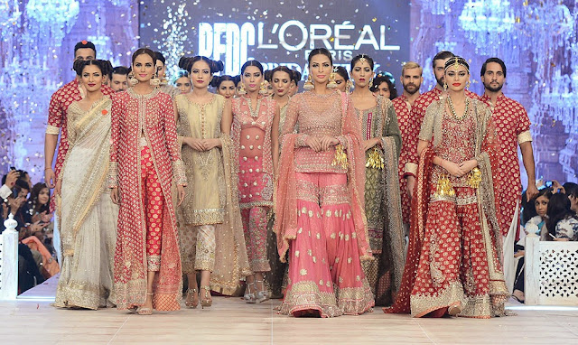 Pink Red Pakistani Bridal dresses Karma