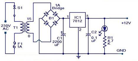 تصميم كشاف ليد يعمل على 220 فولت وبطارية