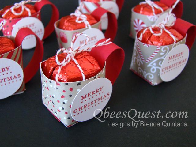 Qbees Quest Dove Chocolate Mug Favor