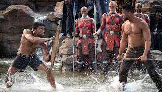 Marvels cinematic universe Black panther is a blockbuster