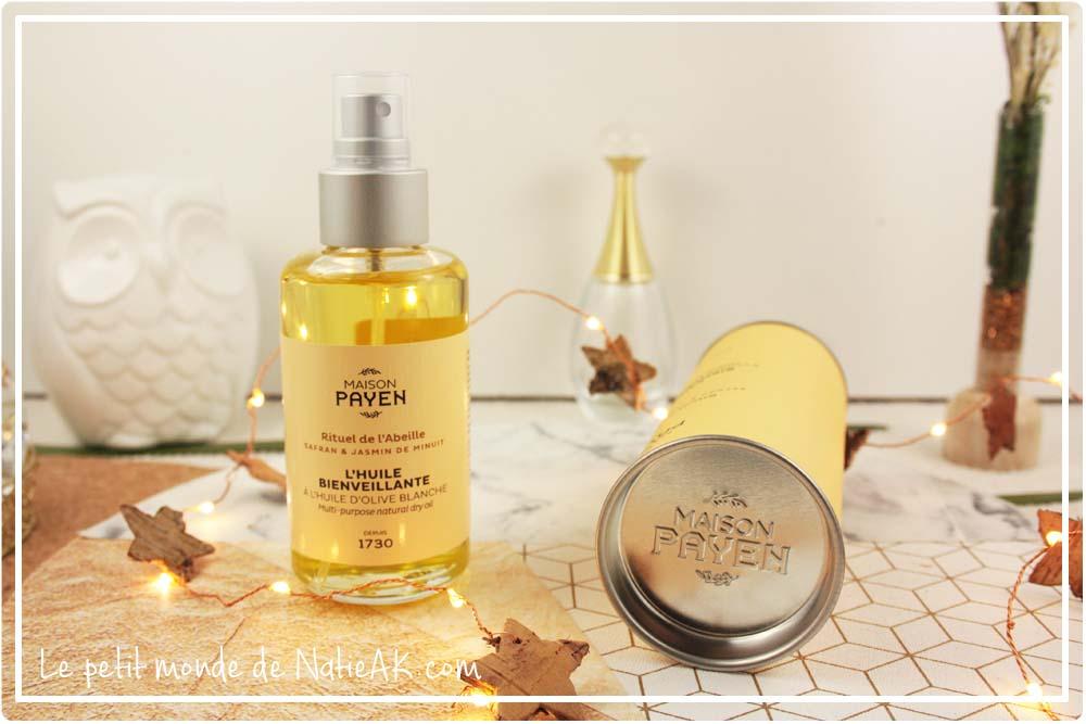 Huile hydratante sèche pour le corps visage, corps et cheveux