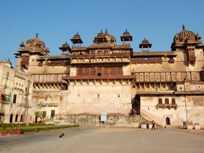 Raja Mahal at Orchha, Madhya Pradesh